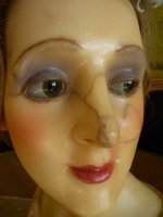 12 antique wax mannequin 1920
