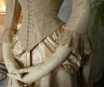 11 antique wedding gown 1877