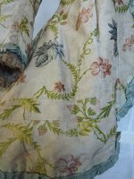 9 antique silk jacket 1750