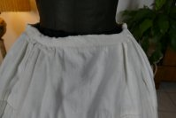3 antique Biedermeier Petticoat 1840
