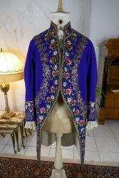 antique mens court coat 1860