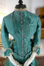 4 antique princess Bustle dress 1878