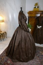26 antique afternoon dress 1840