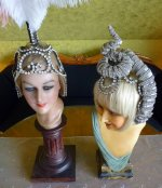 93 antique headpiece 1920