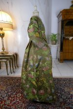 24 antique childs court dress 1760