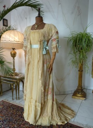 antique belle epoque negligee