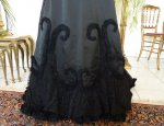 6 antique Worth evening dress 1898