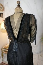 33 antique dinner dress Hamburg 1906