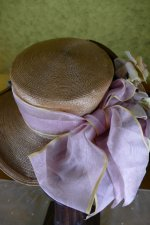 9 antique straw hat 1912