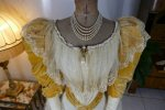 8 antique evening dress 1895