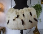 14 antique ermine cape