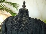 39a antique Worth evening dress 1898