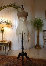 2 antique corset