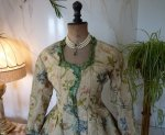 4 antique silk jacket 1750
