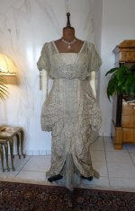 3 antique Maurice Mayer gown 1913