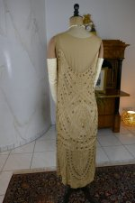 28 antique beaded flapper evening dress 1922