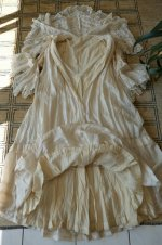 30 antique dressing gown 1890