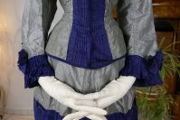 5 antique bustle dress 1884