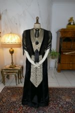 41 antique dinner dress Hamburg 1906