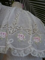 10 antique tea gown