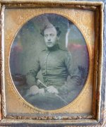 3 antique ambrotype 1860