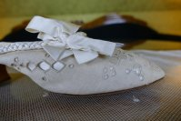 1 antique boudoire slipper 1904