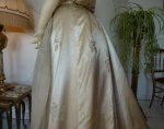 28 antique evening dress WORTH 1898
