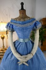27 antique ball gown 1864