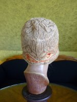 9 antique cloche hat 1927