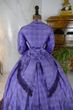 15 antique crinoline dress 1860