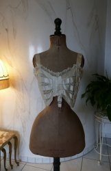 antique bust bodice 1908