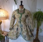 3 antique silk jacket 1750