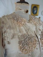1 antique silk coat 1906