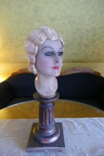 11 antique hair cloche 1920