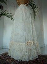 6 antique petticoat