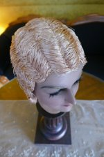 10 antique hair cloche 1920