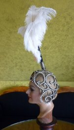 14 antique headpiece 1920