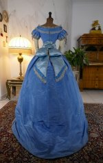 44 antique ball gown 1864