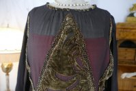 1 antique day dress 1923