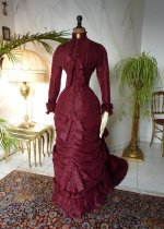 2 antique wedding gown 1878
