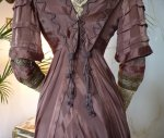 34 antique art nouveau dress