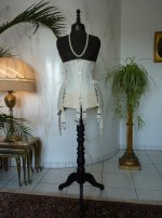 2 antique maternity corset 1910