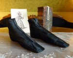 6 antique romantic period boots 1930