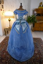 39 antique ball gown 1864
