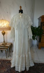 2 antique dressing gown 1890