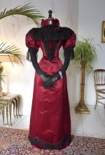 11 antique reception gown