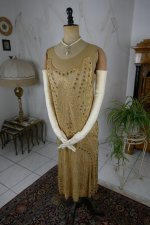 12 antique beaded flapper evening dress 1922