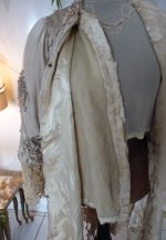 103 antique silk coat 1906