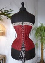 19 antique corset 1880