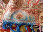 14a antique Paisley shawl 1860